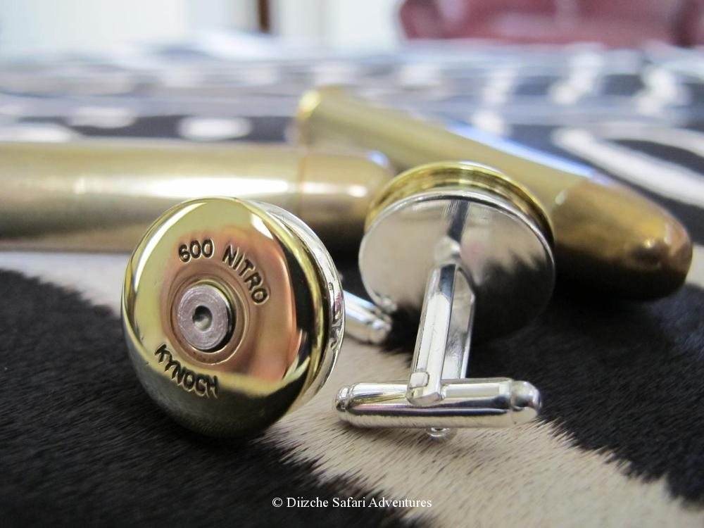 .600 Nitro Express Cufflinks. These are made for us by Kynoch in England through a cufflink manufacturer using Kynoch ammunition brass. Actual cufflinks may vary slightly from image sample. .600 NE Kynoch Cufflinks kynoch cufflinks and native american jewelry kynoch ammunition cufflinks southwestern jewelry