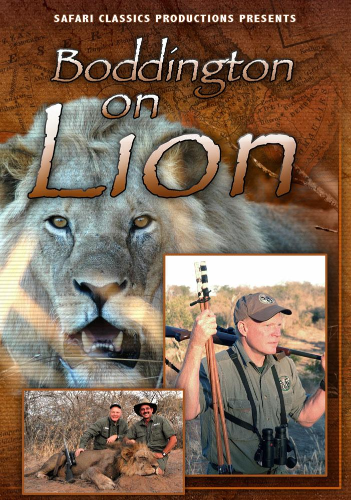 Boddington on Lions Boddington on Lions DVD Craig Boddington on Lion Safari Classics Productions