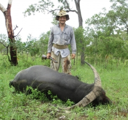<font color=orange>Buffalo-Merkel .500 NE</font> Buffalo-Merkel .500 NE  Trophy hunting photos Australian dangerous game  hunting pictures dangerous game