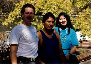 <font color=orange>Shawn, Larry and Patricia-Diizche Traders</font> Diizche Traders - About Diizche Safari Adventures Shawn Joyce