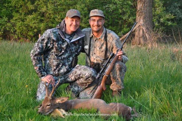 Johannes & Shawn Johannes & Shawn  European hunting photos  European hunting pictures