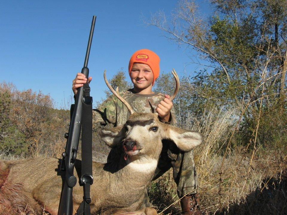 <font color=orange>Noah's First Buck</font> Noah's First Buck  First Buck Club Photos  First Deer Photos