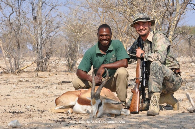 <font color=orange>Springbok-Namibia</font> Springbok-Namibia  Trophy hunting photos african plains game  hunting pictures plains game